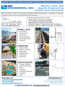 MARINE AQUATIC ENGINEERING FLYER Capture